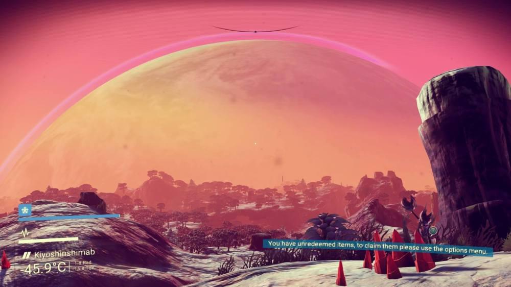 No Man's Sky Planetrise